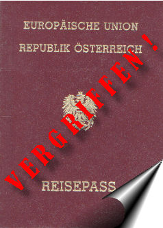 Reisepass Österreich