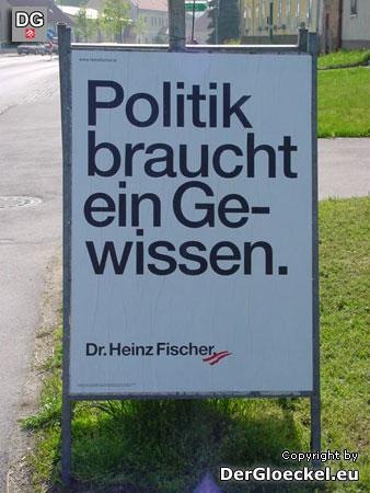 Wahlwerbung Dr. Heinz Fischer