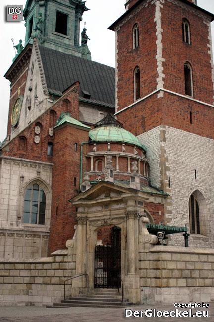 Die Ruhestätte der Könige Polens - gegen die Tradition und den Willen vieler Bürger Polens soll Lech Kaczynski hier bestattet werden
