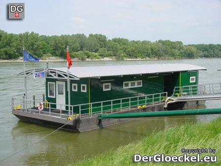 ehemalige Zollwache - Grenzkontrollstelle Hainburg an der Donau in Hainburg, NÖ
