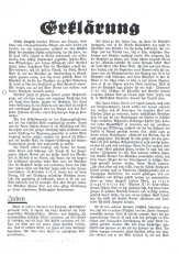 Seite 1 der an HITLER gerichteten Erklärung der ZEUGEN JEHOVAS