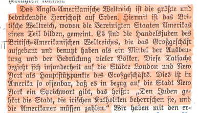 Faksimile der an Hitler beigefügten Erklärung der Zeugen Jehovas