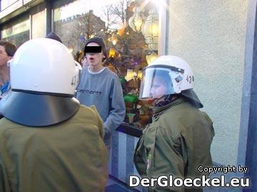 Assistenzleistung der Polizei aus Brandenburg