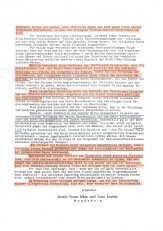 Seite 3 des Briefes der ZEUGEN JEHOVAS an HITLER