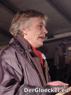 Claus Schreer vom Bündnis