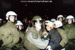 traumatische Erlebnisse für laute, aber friedliche Bürger
