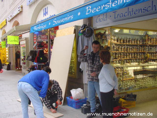 ~ 1.000.- EURO kostet der Schutz bei diesem Laden