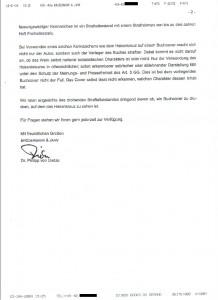 Rechtsanwalt Brödermann - der eingetroffene Brief - Seite 2