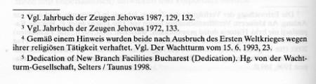 """Faksimile aus """"Repression und Selbstbehauptung - Die Zeugen Jehovas unter der NS- und der SED-Diktatur"""" von Besier & Vollnhals"""