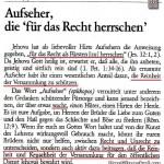 Aus dem geheimen Anleitungsbuch für Führungskräfte der ZEUGEN JEHOVAS