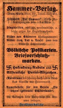 Wegbereiter des Nationalsozialismus - Faksimile aus dem Hammer-Jahrbuch 1923