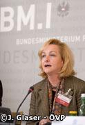 Innenministerin Maria Fekter leistete Wahlunterstützung für Parteikollegen Strasser