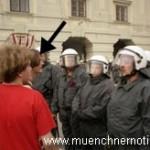 verbale Ausfälle gegenüber der Polizei