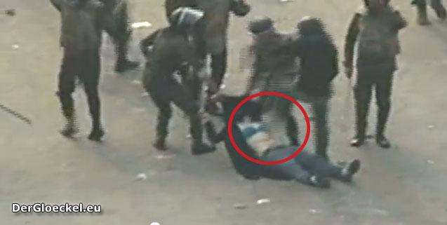 Ägypten: Gewaltexzess gegenüber Demonstranten am 17.12.2011