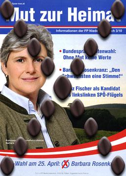 Bundespräsidentenwahl 2010 - Barbara Rosenkranz