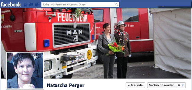 Bgm. Natascha Perger auf Facebook | Screenshot: DerGloeckel.eu