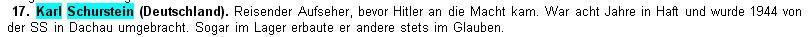 Falschangabe der Zeugen Jehovas zu Opfer des Nationalsozialismus
